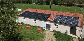 Installation photovoltaïque de Donneville