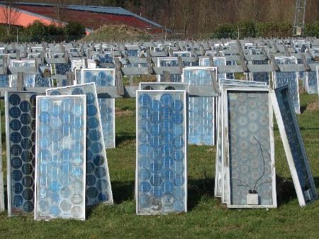 Panneaux à recycler