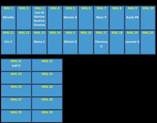 Plan des panneaux photovoltïques de la mairie annexe de Labège